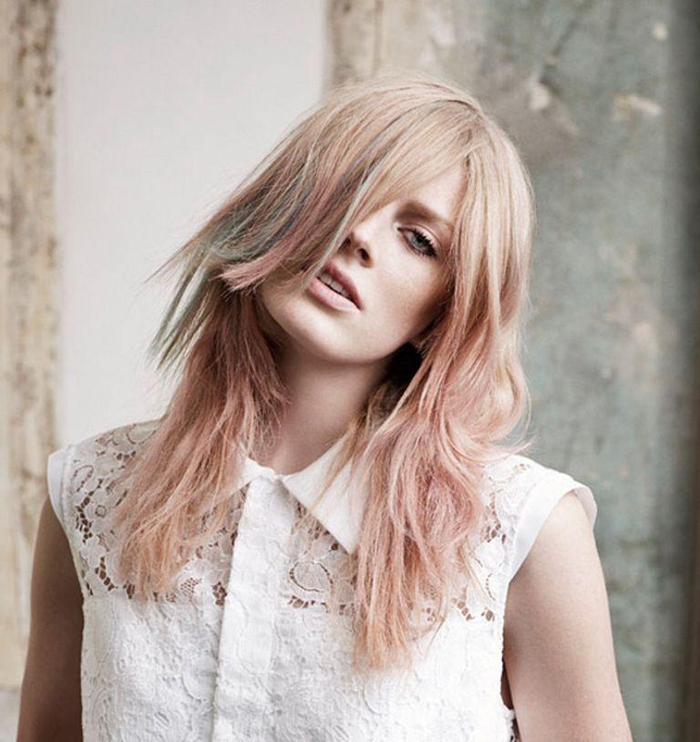 Die Trends von Haarfarben