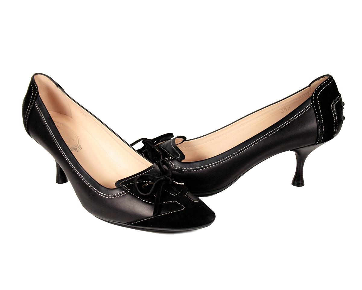 Der Schuh aus Leder für Damen